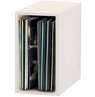 Record Box 55 White