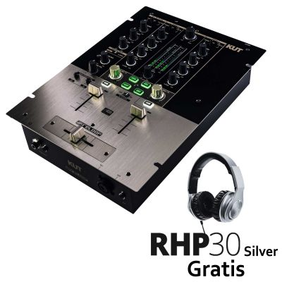 KUT Digital Battle FX Mixer + RHP30 Silver Gratis