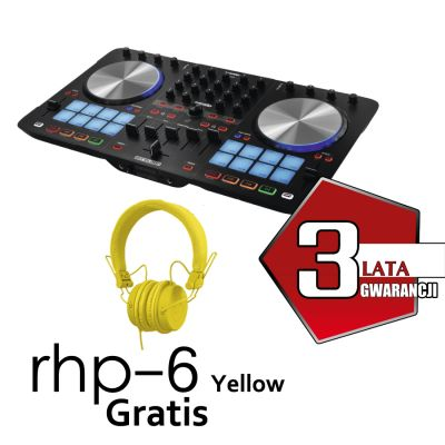 Beatmix 4 MK2 + RHP6 Yellow Gratis