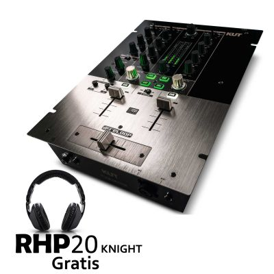 KUT Digital Battle FX Mixer + RHP20 KNIGHT Gratis