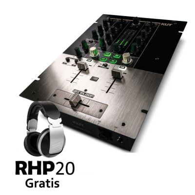 KUT Digital Battle FX Mixer + RHP20 Gratis