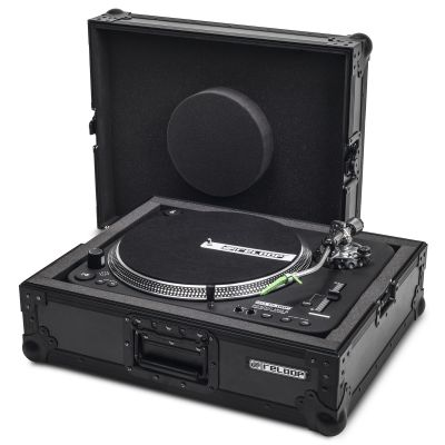 Turntable Case Black PRO